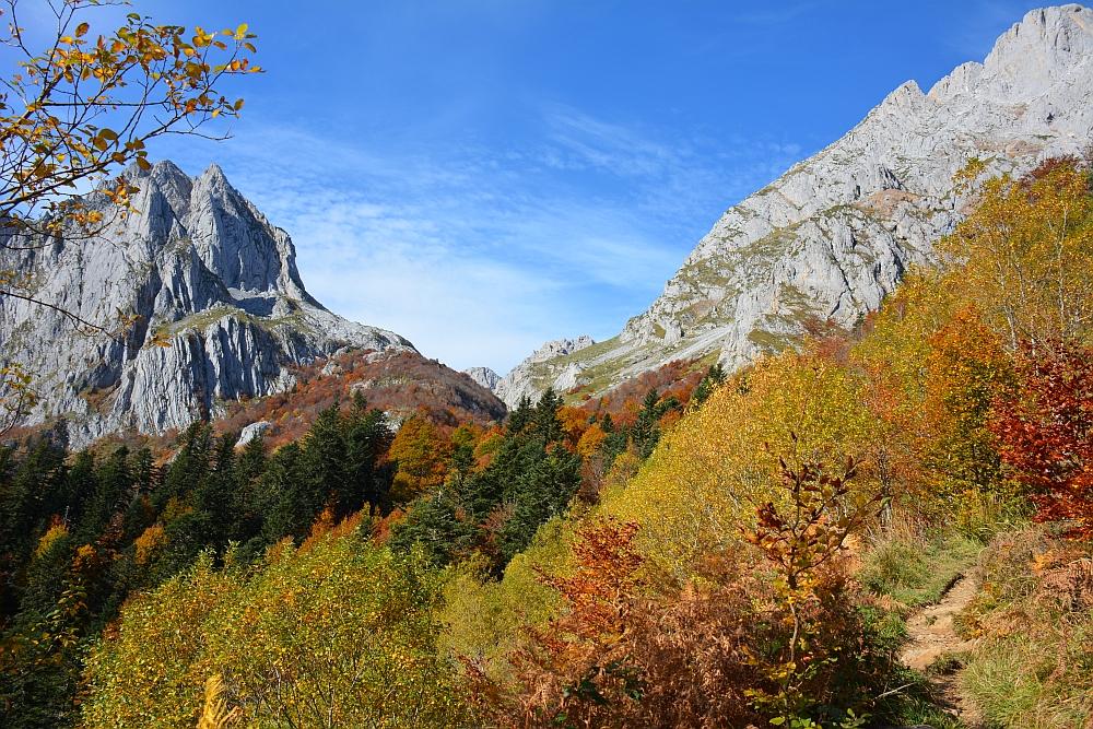 Cirque de Lescun herfswandeling Pyreneeën
