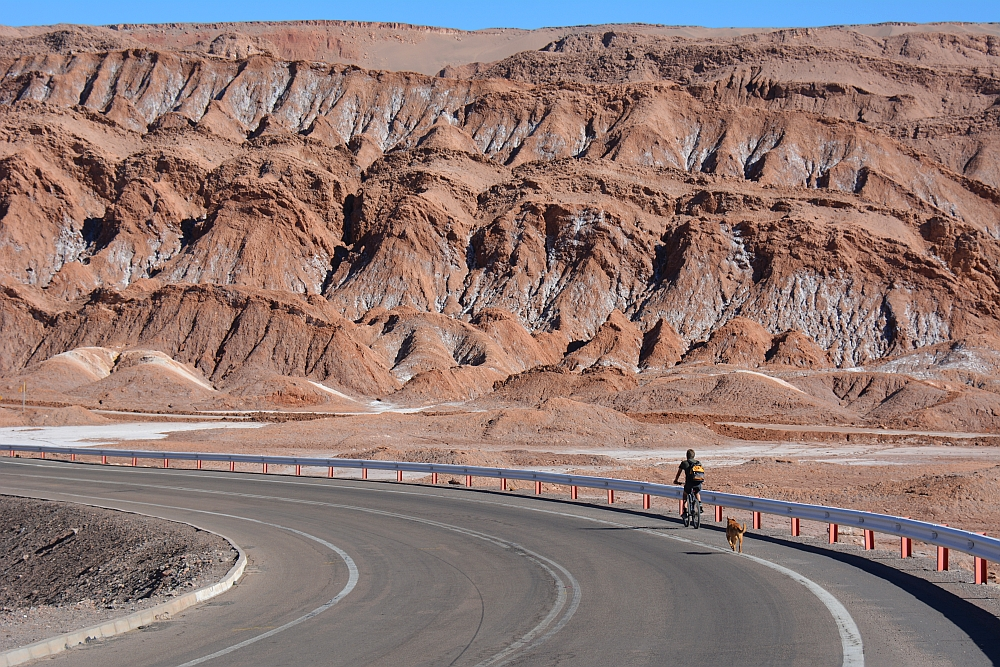 De kleurrijke rotsen rondom San Pedro de Atacama