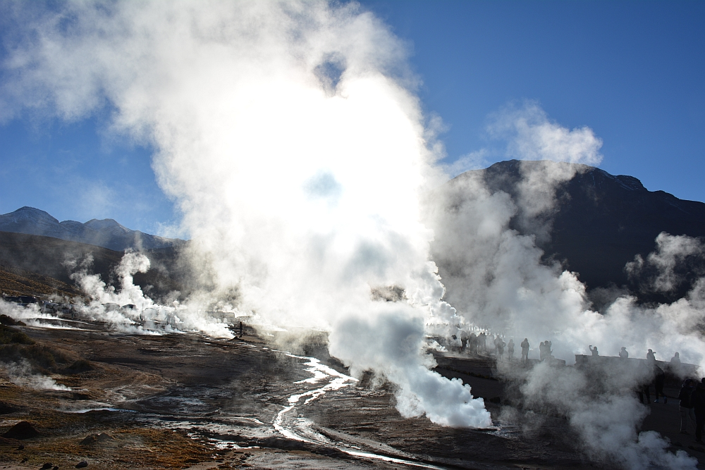 El Tatio geisers in Chili