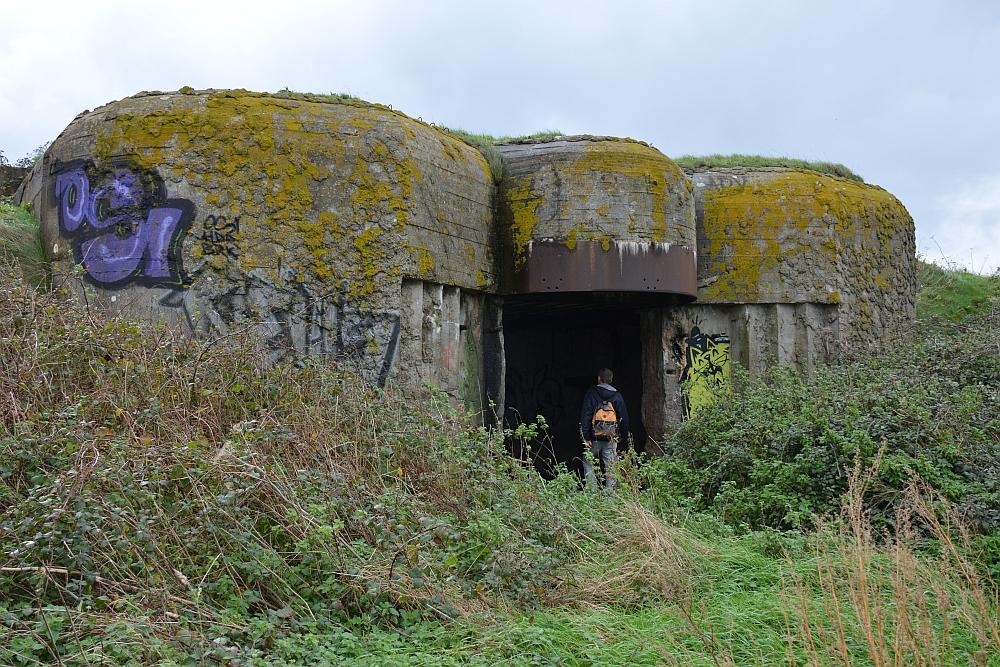 bunkers aan de Normandische kust
