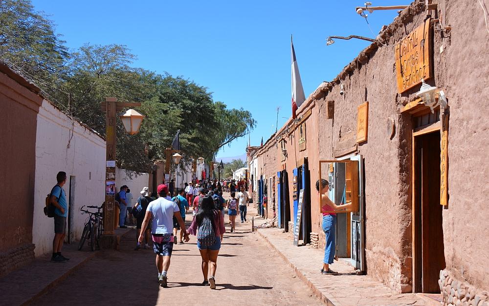 centrum van San Pedro de Atacama