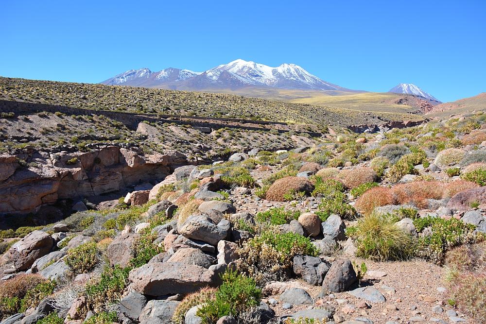 kleurijke rotsen in de Piedras Rochas