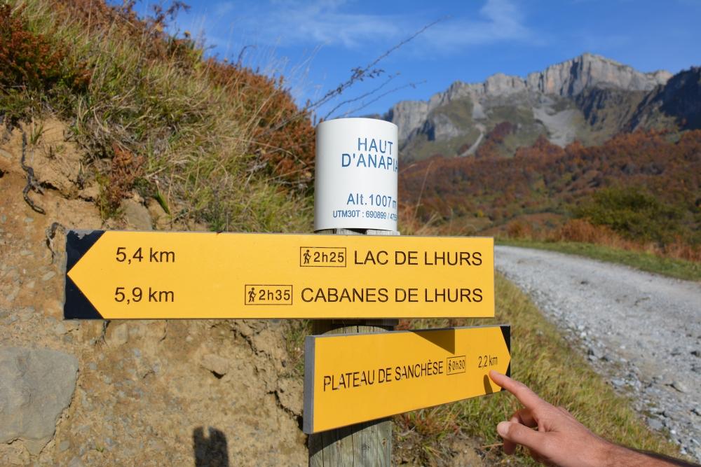 wandeling Lac de Lhurs Etsault