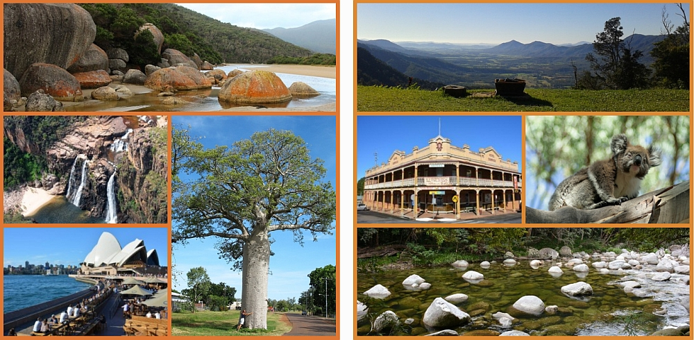 Australië pagina Myfootprints