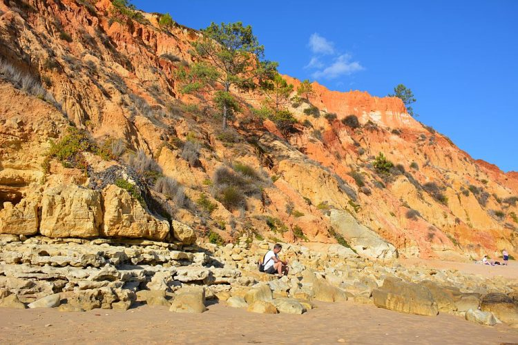 Doen vanuit Carvoeiro rotskust bij Praia da Falésia