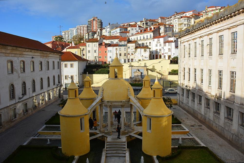 Jardim da Manga Manga Cloister Coimbra Portugal