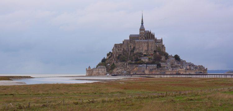 Mont Saint Michel Normandië Frankrijk
