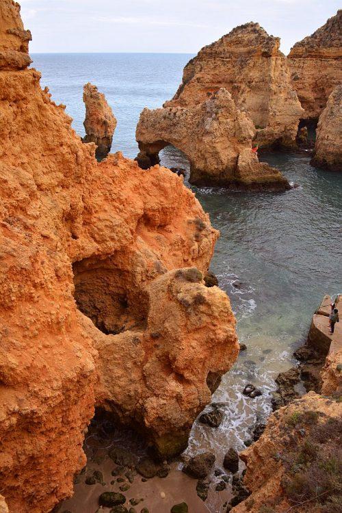 Ponta da Piedade rotskust Algarve
