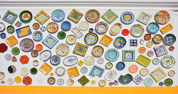 aardewerk winkel in de Algarve