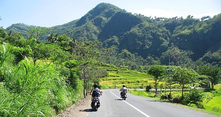 shit happens scooter ongeluk op Bali