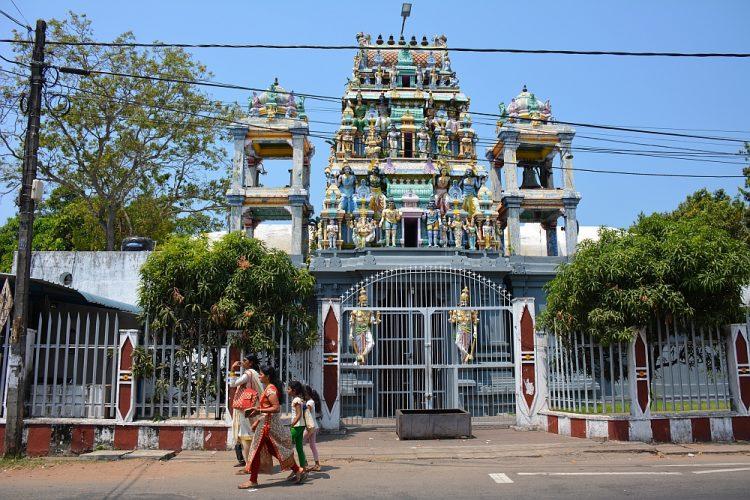 Hindoe tempel Negombo