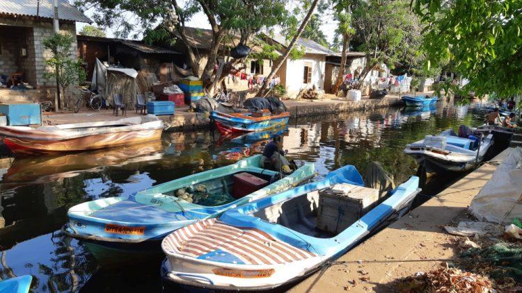Old Dutch Canal Negombo Sri Lanka