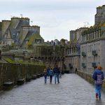 Stadsmuur Saint Malo Frankrijk
