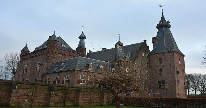 achterzijde Kasteel Doorwerth