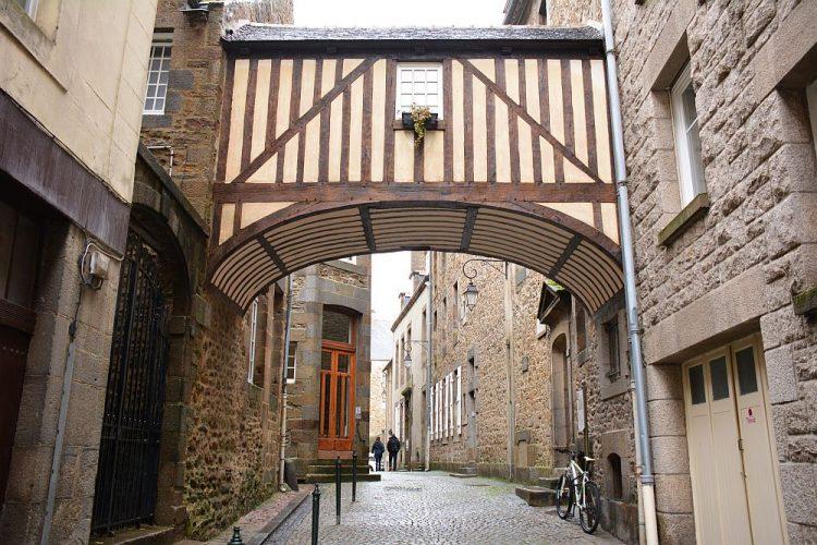 oude binnenstad Saint- Malo