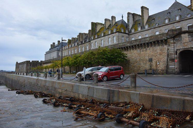 parkeren Saint-Malo Bretagne