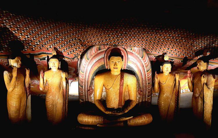 rotstempel Dambulla Sri Lanka