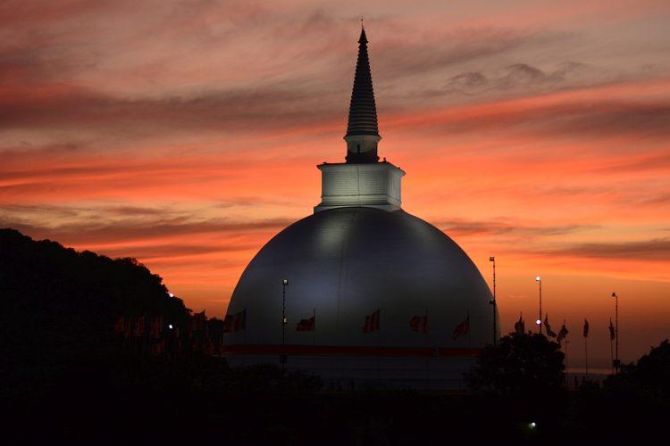 sunset Mihintale Sri Lanka