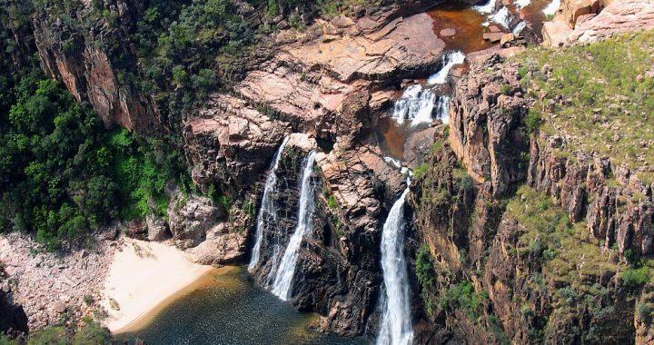 waterval Kakadu National Park Australië