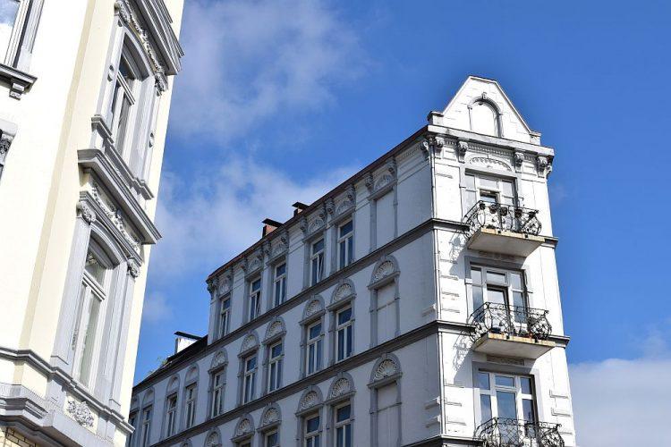 Hamburg mooi gebouw