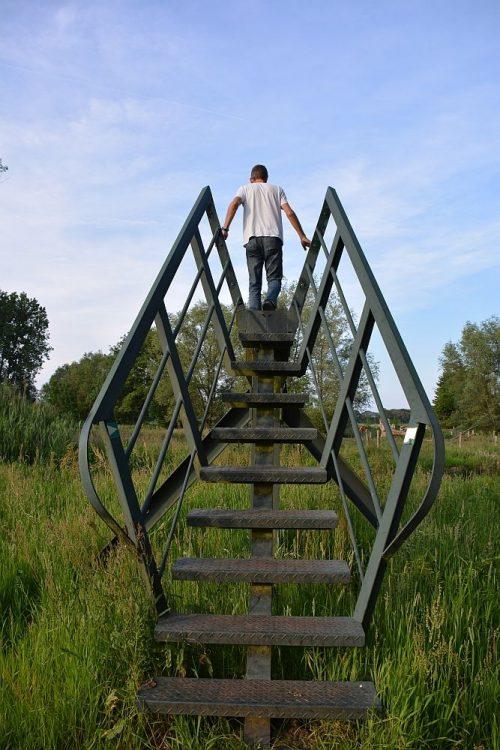brug op het Loondermolenpad