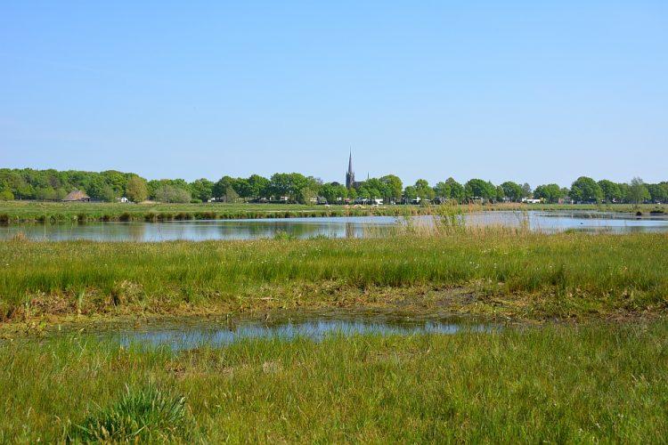 uitzicht op Ulvenhout vanaf het Markdal Breda