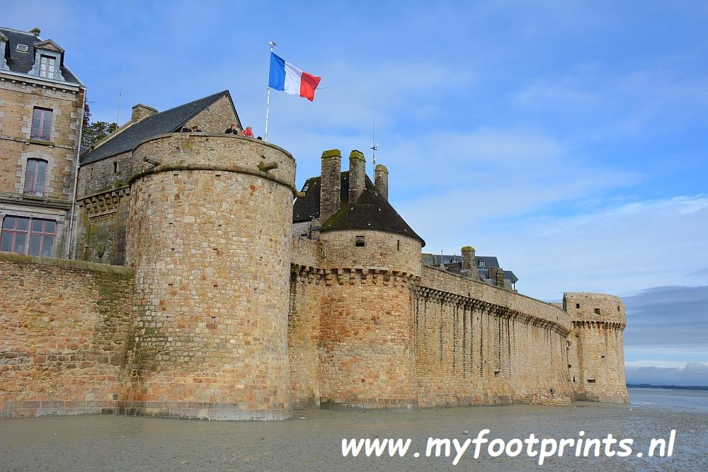 Foto van de maand Myfootprints Mont Saint Michel Normandië