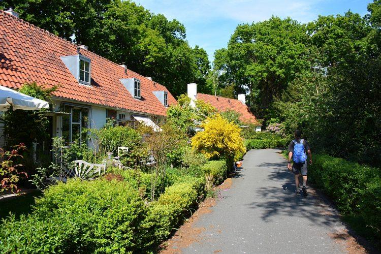 leuk straatje in bergen Noord-Holland