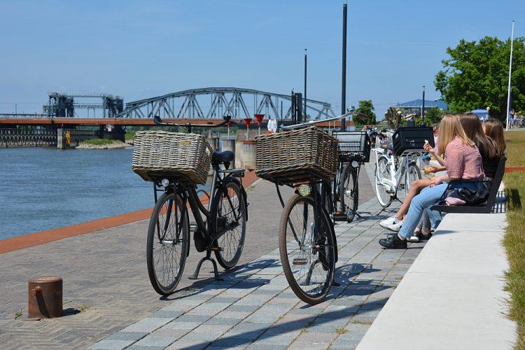 oevers van de IJssel bij Zutphen