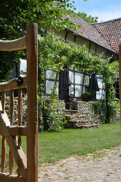 vakwerkboerderij in Limburg Trage Tocht Vijlen