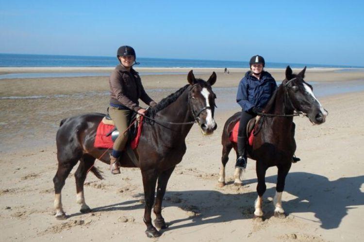 weekendje weg Nederland paardrijden