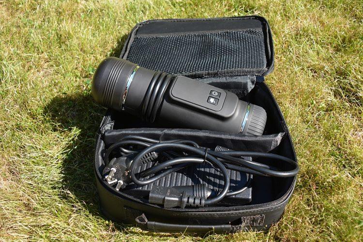 PortoPresso camping koffiezetapparaat in handige reis verpakking