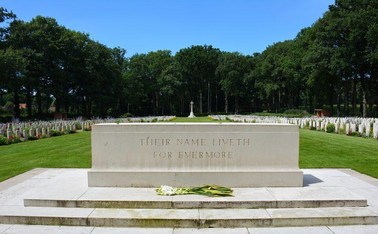 Airborne Begraafplaats Arnhem Oosterbeek