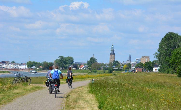 De IJssel bij Zutphen