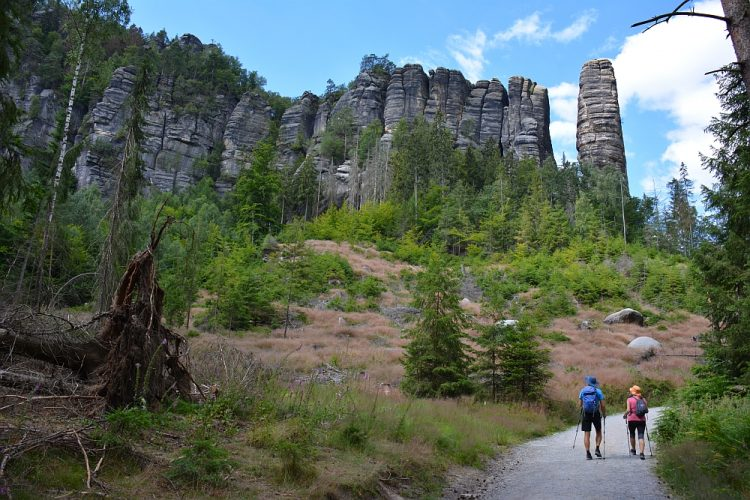 Roadtrip Duitsland rotsformaties langs de Malerweg Säksische Schweiz