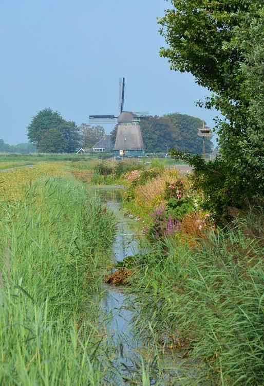 Obdammer Molen Noord-Hollandpad wandelroute