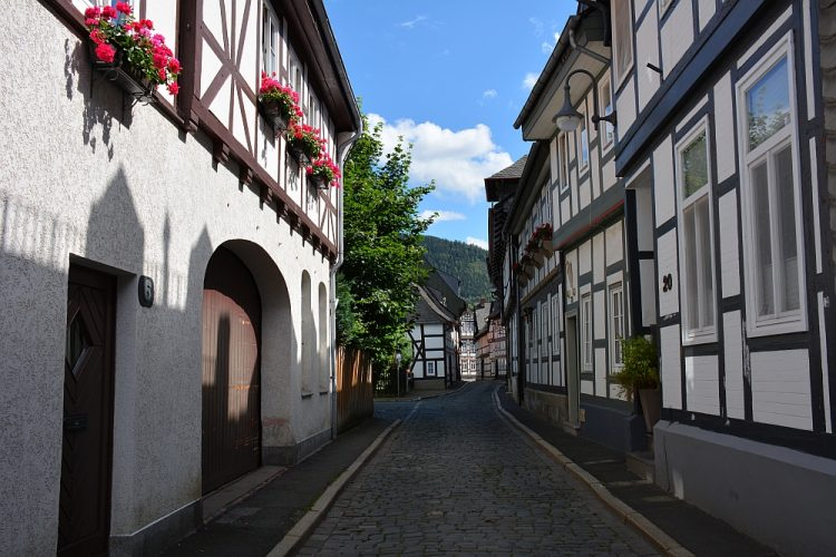 Goslar Harz Duitsland