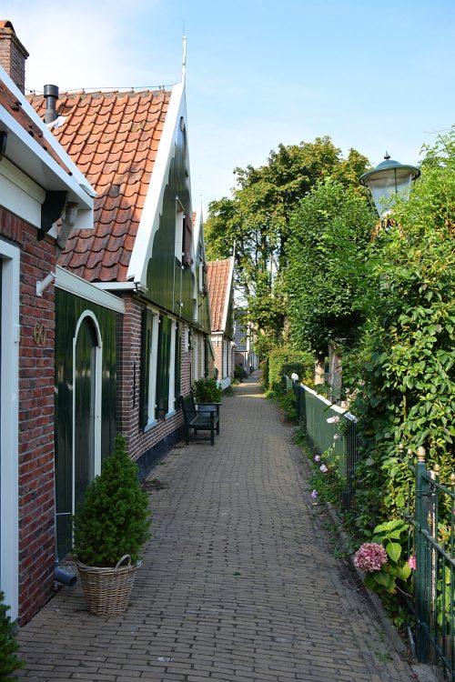 binnenstad Kolhorn West Friesland