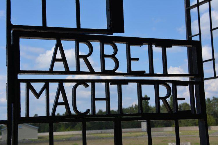 entree voormalig concentratiekamp Sachsenhausen
