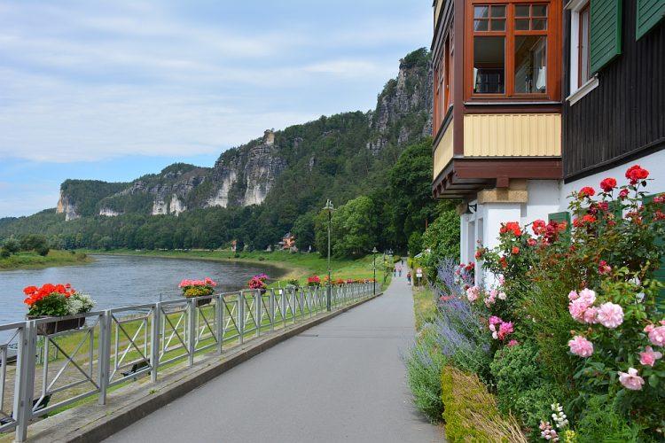 gezellige dorpjes aan de Elbe Duitsland