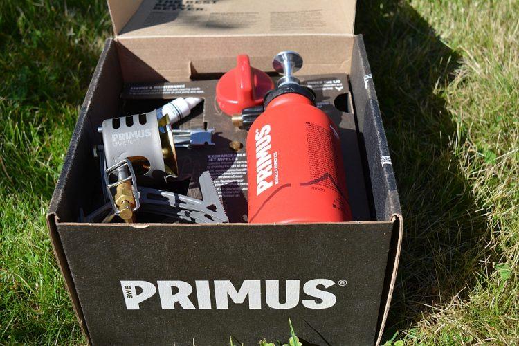 lichtgewicht brander Primus OmniLite Ti