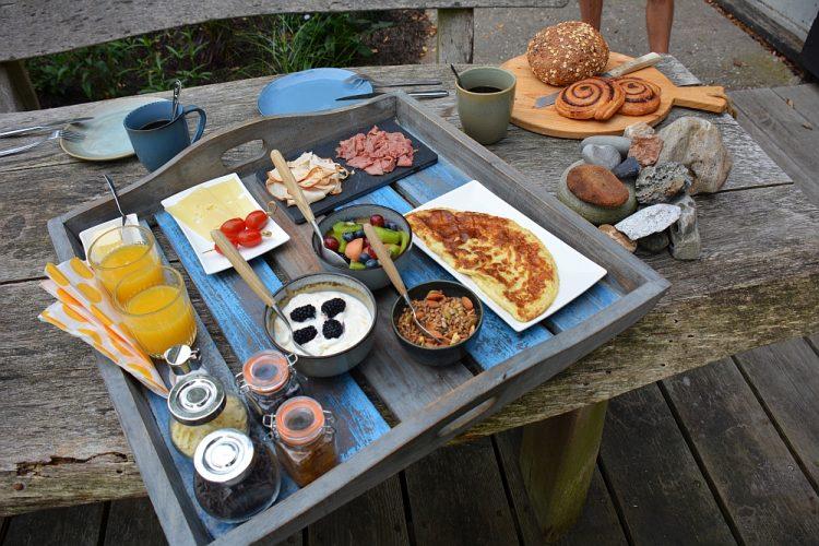 ontbijt bij Olling Art Inn Kolhorn