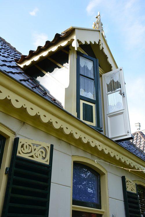 prachtige gevels in Kolhorn West Friesland