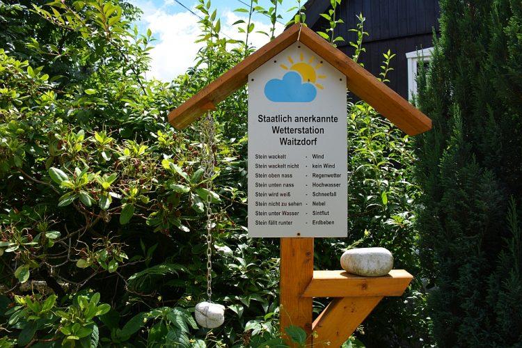 weerstation in Waitzdorf