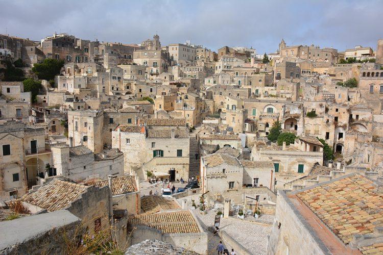 Matera campertrip Italië