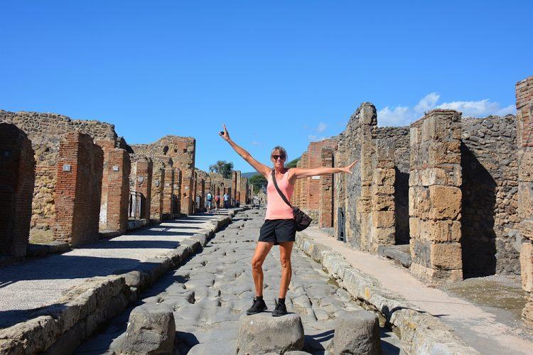 Pompeii campertrip Italië Myfootprintsnl