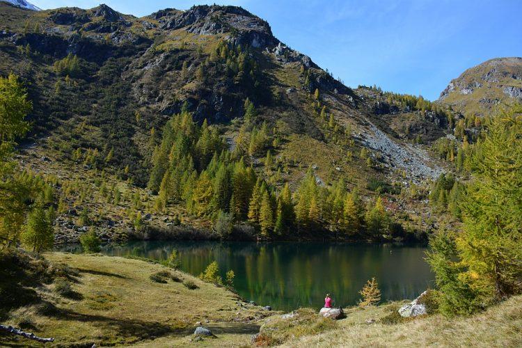 Wirpitschsee wandelen Oostenrijk campertrip