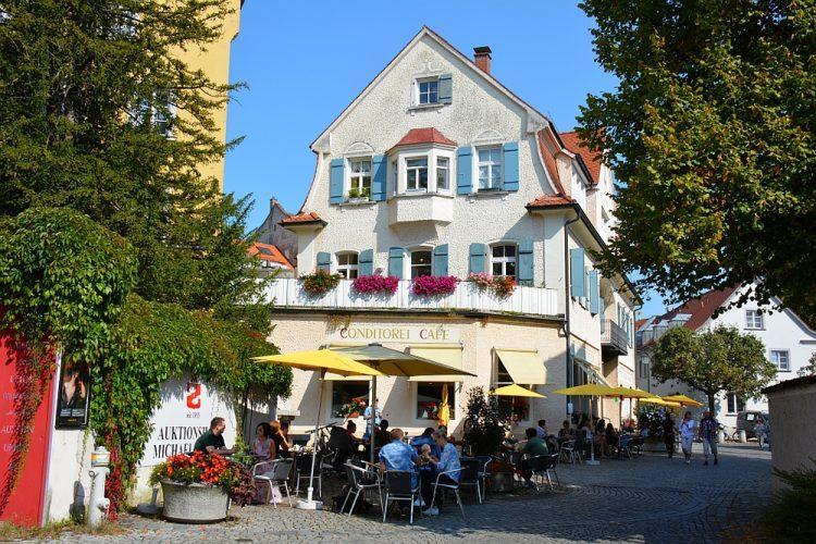 Lindau Bodensee Duitsland startpunt Deutsche Alpenstrasse