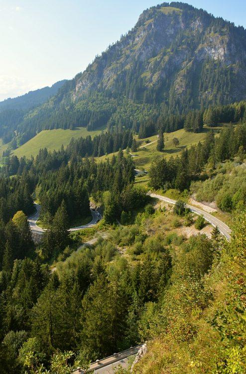 Oberjoch pasweg Duitsland
