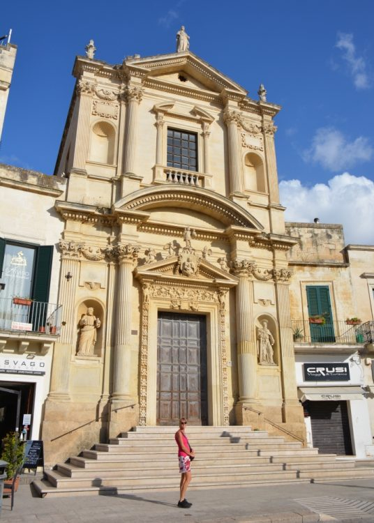 Piazza Sant'Oronzo Lecce Italië